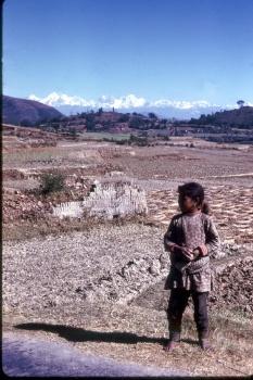 Himalaya from Kathmandu
