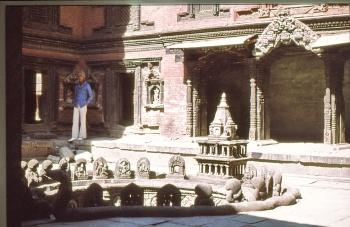 Patan Cour fermée du Palais