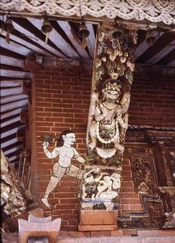 Temple au pied Pashupati