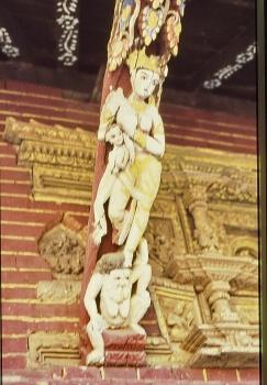 Kathmandu Gange Mura a Vishnu