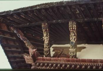 Temple sur route de Swayambu