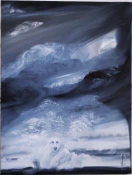 2006 - Autoportrait sous la tourmente