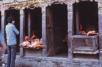 Butcher in Kathmandu